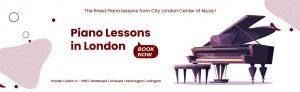 PIANO LESSON IN LONDON
